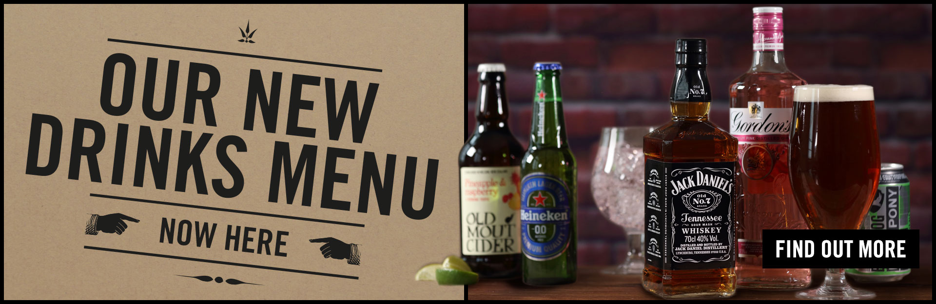 New Drinks Menu Coming Soon at The Black Bull
