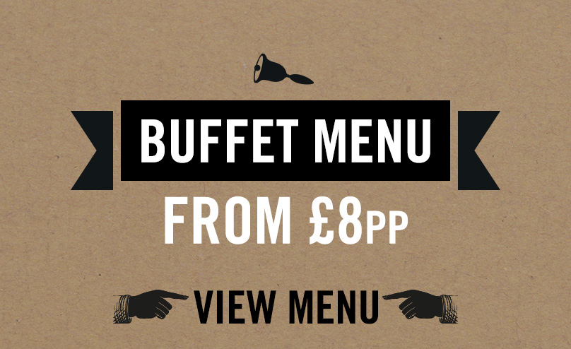 Festive buffet menu at The Black Bull