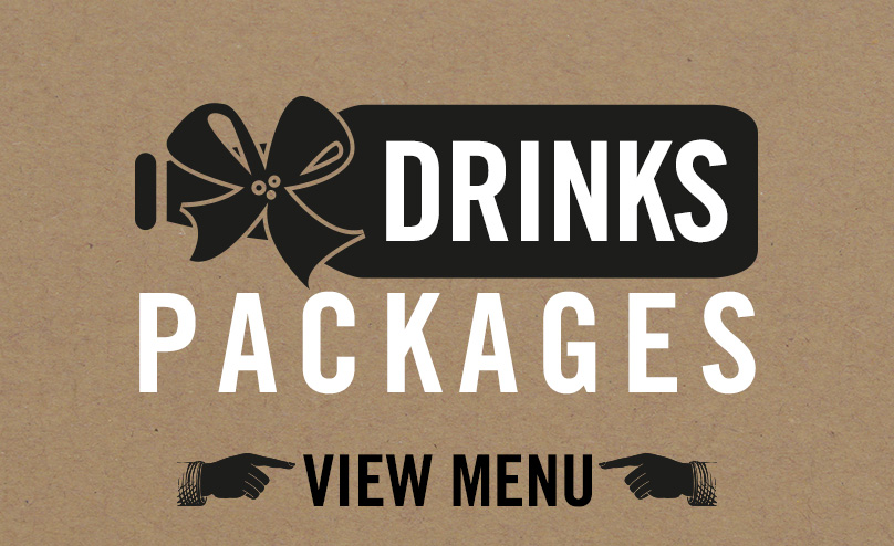 Drinks packages available at The Black Bull