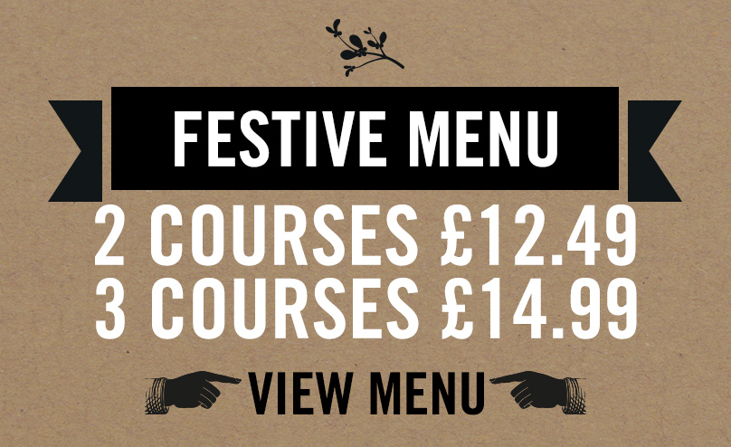 Festive Menu at The Black Bull