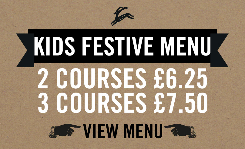 Kids Festive Menu at The Black Bull
