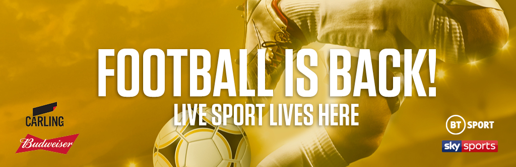 Watch live football at The Black Bull