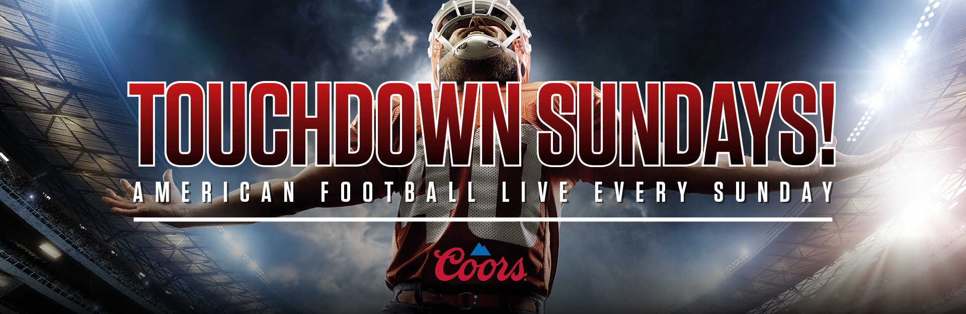 Watch NFL at The Black Bull