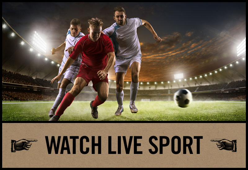 Live Sport at The Black Bull