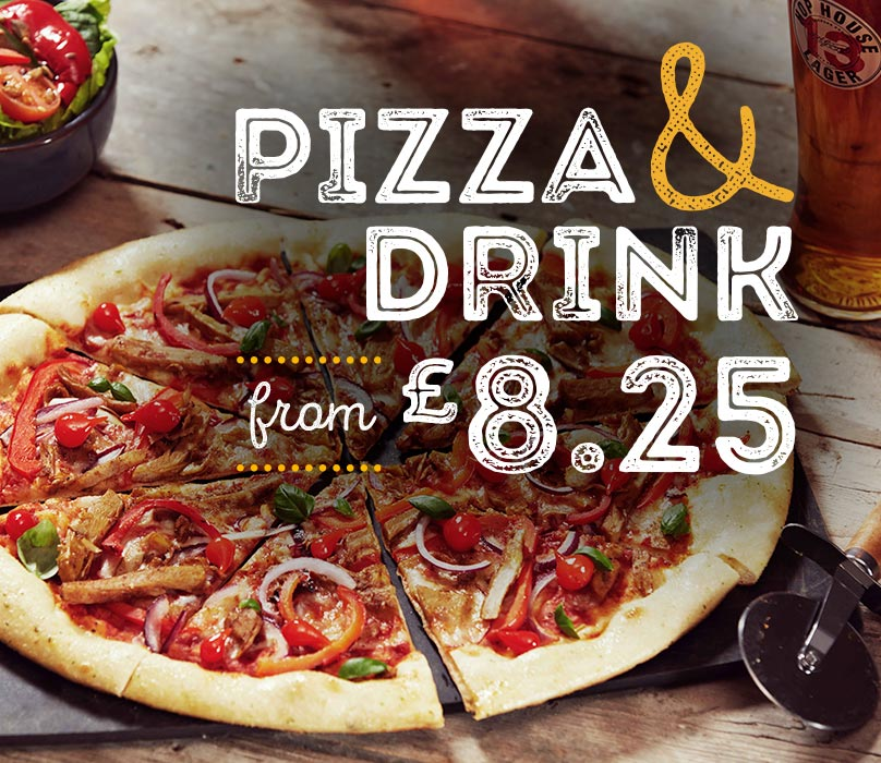 Pizza and a Drink for £8.50